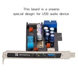 Image 4 - Nobsound Elfidelity AXF 100 USB Power Source HiFi Interface Preamp Internal Filter For USB Audio Device DAC