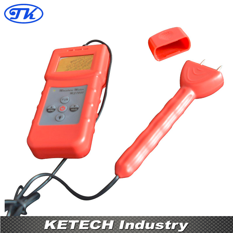 MS7200 2 Pin Wood Moisture Meter for Measuring Moisture Content of Wood, Timber, Paper portable pin type wood moisture meter mc7806