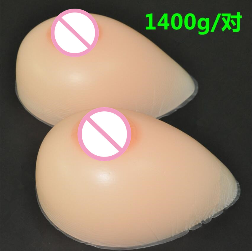 1400g/pair 38DD/40D/36E cup Silicone Breast forms Mastectomy Artificial Silicone Fake Breast For Crossdressers And Transvestites цена 2017