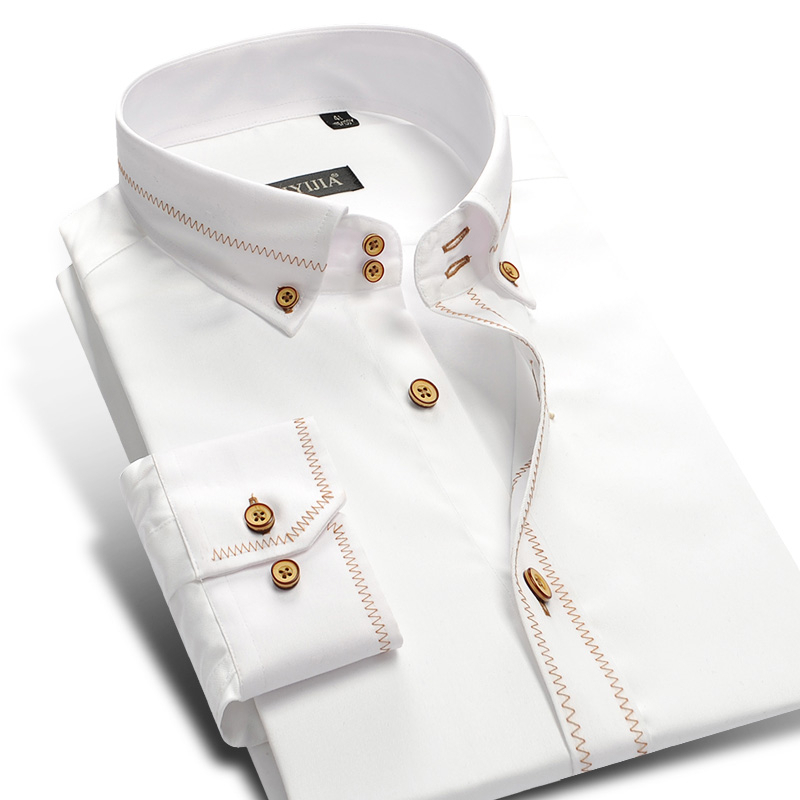 Buy boys fashion white men dress shirt Buy white dress shirt