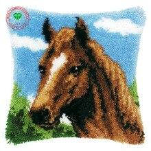 Estera diy almohada de punto de Cruz-puntada Patchwork bordado hilo de alfombra esmirna kits cojín cojín estera alfombra hogar gancho alfombra