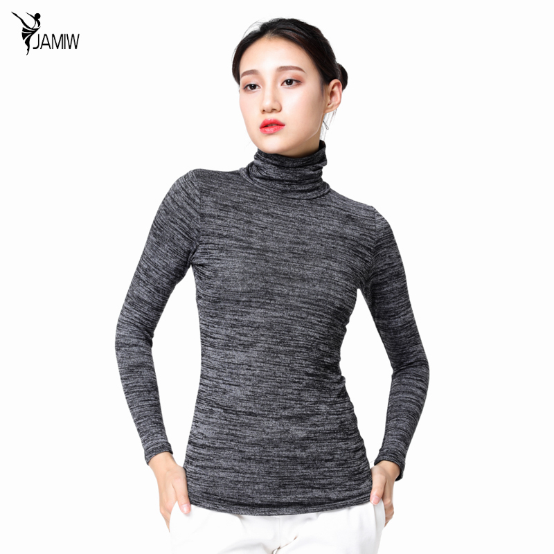 Women Casual Knitted Pullover Sweaters 2017 Fashion High Neck Long Sleeve  Slim Fit Jumper Tops Casual