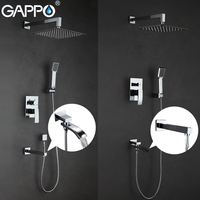 GAPPO Shower Faucets Bath Tub Faucet Bathroom Shower Mixer Tap Waterfall Mixer Tap Faucet Torneira Do