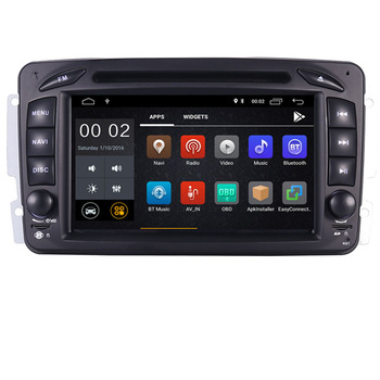 In Stock 7Android 10 Car DVD Player For Mercedes Benz CLK W209 W203 W463 W208 Wifi 3G GPS Bluetooth Radio Stereo Mirror link image