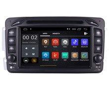 "В наличии 7 ""Android 8,1 dvd-плеер автомобиля для Mercedes Benz W209 W203 W163 W463 Viano W639 Vito Wi-Fi 3g gps Bluetooth стерео радио"