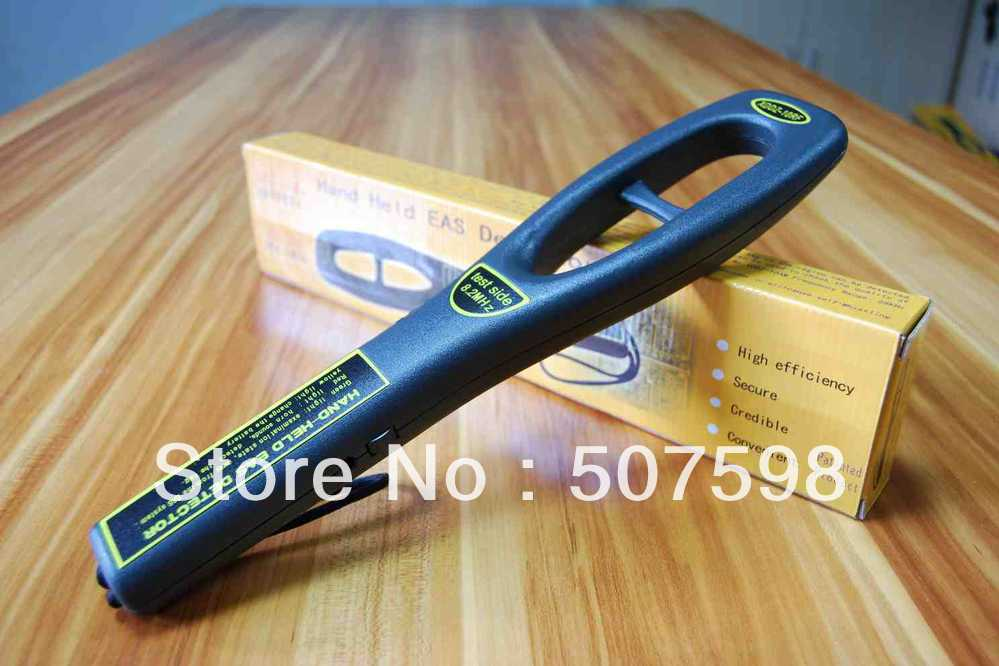 HZSECURITY, Handhold tester RF8.2MHZ ,handheld anti-theft detector hzsecurity electromagnetic system em library anti theft system one aisle