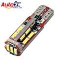 Autoec 4x t10 194 168 192 19 leds smd 4014 canbus erro Free Car LED Auto Estacionamento Marcador Clearance Lâmpada Luz DC12V # LB132