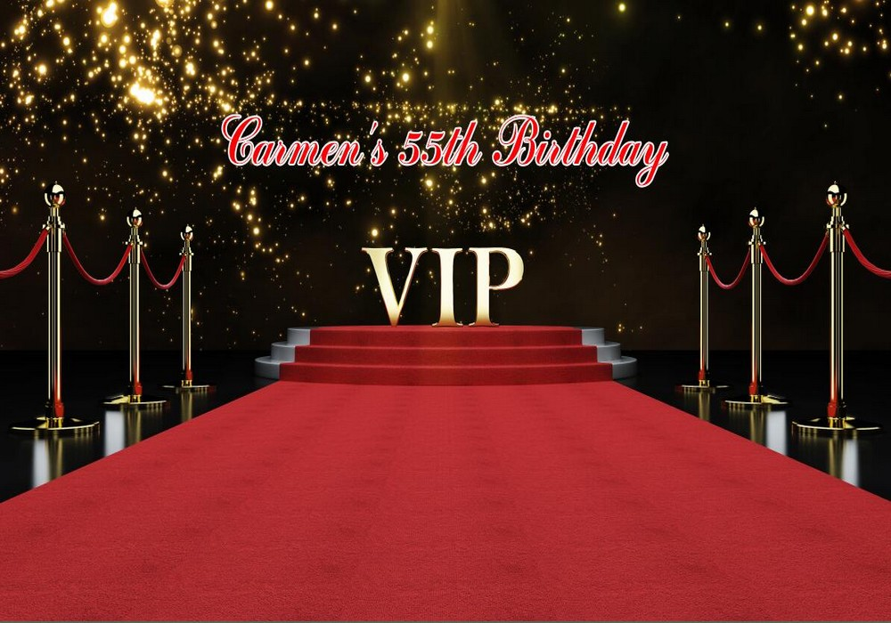 custom gold Vip red carpet staircase Photo Background ...