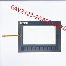 محول الأرقام بشاشة تعمل بلمس ل 6AV2123 2GB03 0AX0 KTP700 الأساسية لوحة اللمس ل 6AV2 123 2GB03 0AX0 KTP700 الأساسية مع لوحة مفاتيح غشائية