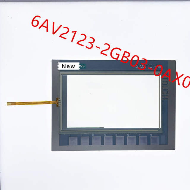 Touchscreen Digitizer für 6AV2123 2GB03 0AX0 KTP700 Grundlegende Touch Panel für 6AV2 123 2GB03 0AX0 KTP700 Grundlegende mit Membran Tastatur