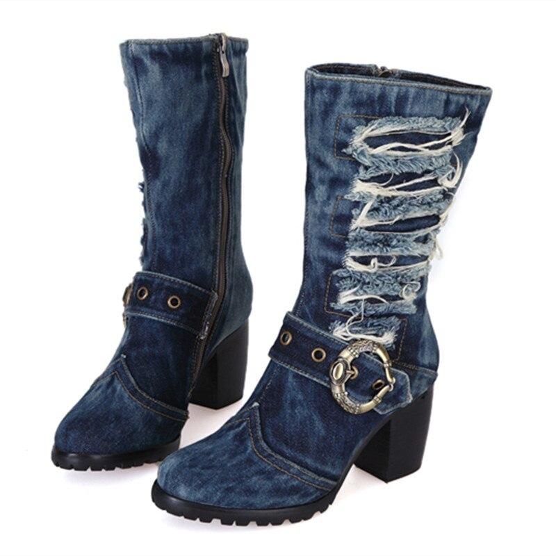 Resultado de imagem para sapatos jeans 2017