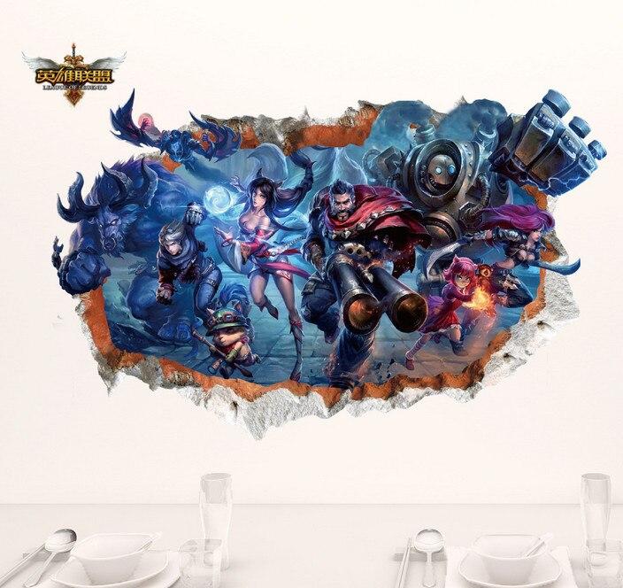 B Tapis De Souris Mousepad League Of Legends Fire Wallpaper Computer ...