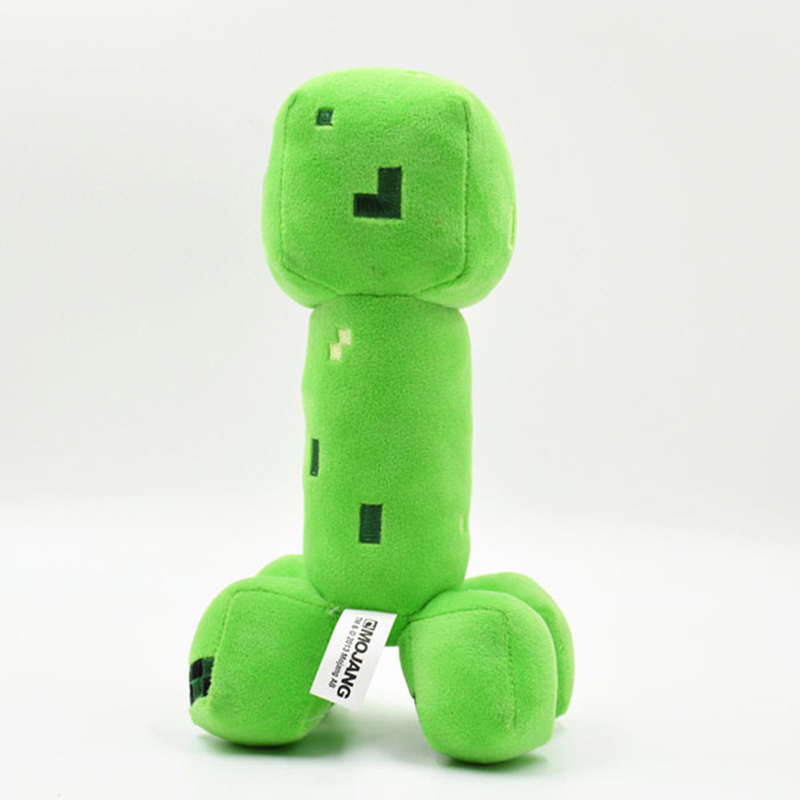 Minecraft Plush Toy 18cm Green Cooly Creeper JJ Soft Minecraft Stuffed Toys Brinquedos Popular Gifts for