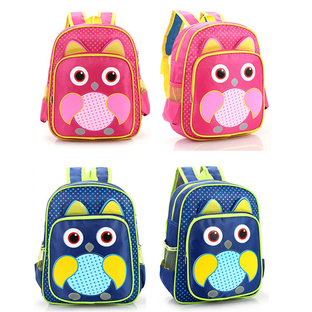1cb302f59f31 Cute Design School Bag Kids Boys Girls Baby Backpack Lunch Box-in ...