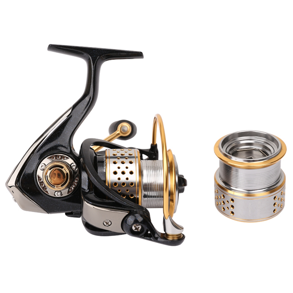 Tsurinoya Metal Fishing Reel Coil Sea Spinning Reels Deep and Shallow Spool 2000 Series 5.2:1 9BB Drag Power 6kg High Quality