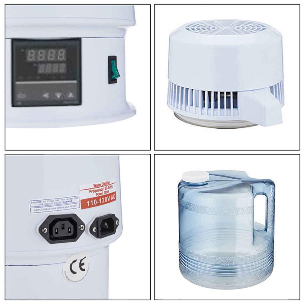 Новый 4 литров Самогонный аппарат дома чистая вода Алкоголь дистиллятор фильтр очистительное оборудование бойлер пивоварения w/Liquid Crystal экран