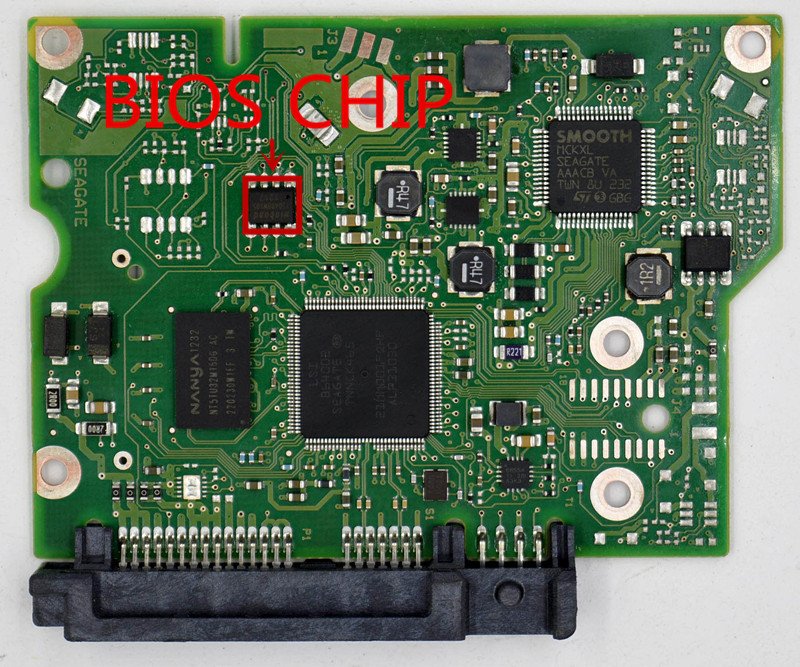 1 Teile/los Hdd Pcb Logic Board Anzahl 100664987 Rev A 100664987 Reva 100664987 Moderne Techniken