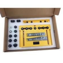 Houtbewerking tool DIY Handvat deurklink Knop en Trek Installatie Jig en Plank Pin Jig Houtbewerking Gat opener Puncher