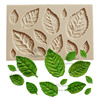 Leaf Silicone Mold Fondant Mold Cake Decorating Tools