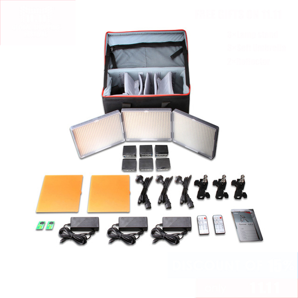 Aputure Amaran HR672KIT LED Video Light set led photography light LED light HR672WWS Kit aputure amaran led video camera light set hr672kit led photography light led light hr672ssw kit 3 led video light set