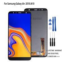 Original For Samsung Galaxy J6 2018 J6 Plus J6+ LCD Display Touch Screen For Samsung J610 Screen LCD Display Digitizer Assembly