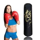 ①  120 см Kick Boxing Боксерская груша PU Кожаный Мешок с Песком Взрослых ММА Муай Тай Тхэквондо Спорт  ★