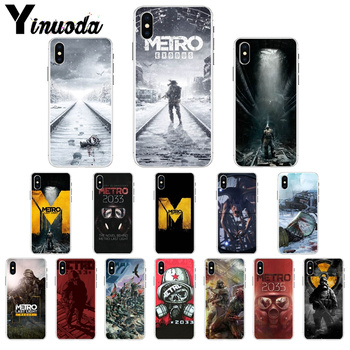 Yinuoda Metro 2033 DIY Printing Drawing Phone Case cover Shell for Apple iPhone 7 6 6S 8 Plus X XS MAX 5 5S SE XR Cellphones image