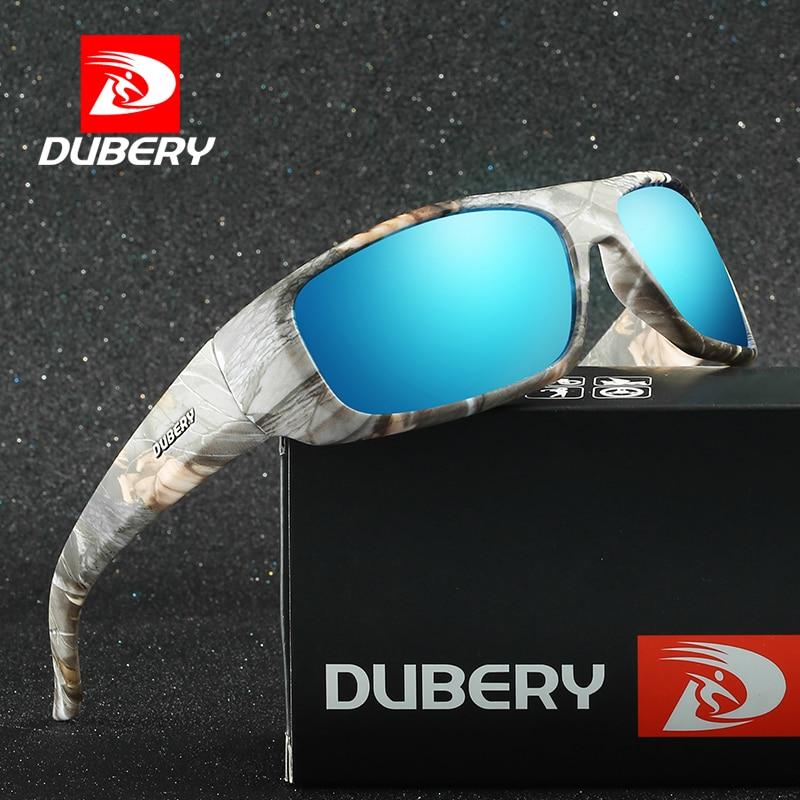 Dubery يستقطب نظارات شمسية رجالية ريترو - ملابس واكسسوارات