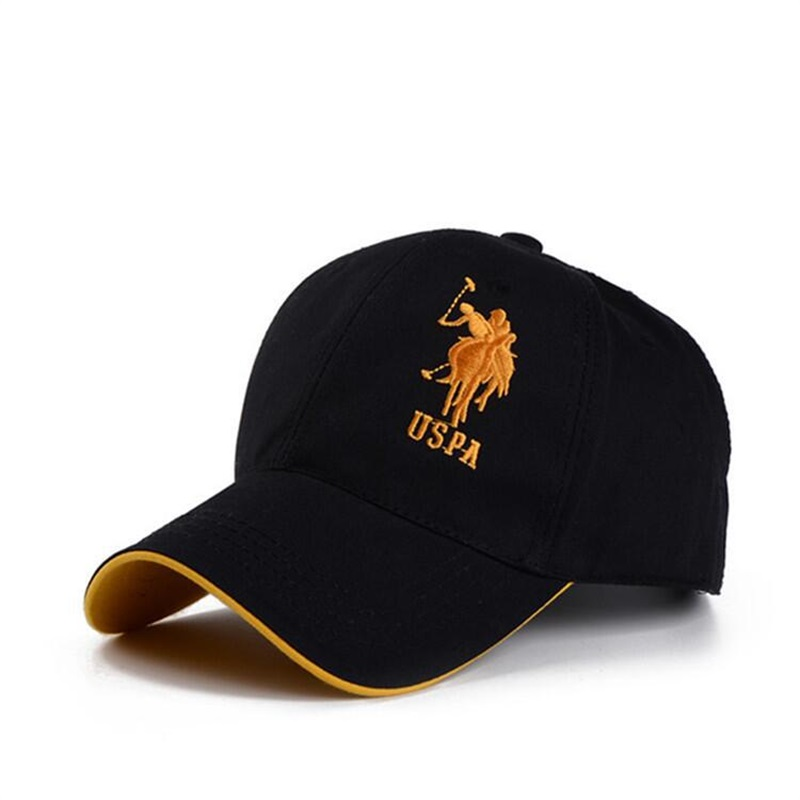 2019 Sports   Cap   POLO Embroidery hat Mens Hat For Fish Outdoor   Baseball     Cap   Long Visor Brim Shade Snapback Sun Hat Bone Gorras