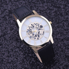 Splendid Men's Skeleton Mechanical Watch wristwatch Man watches Leather Relogio Masculino Luxury Fashion Casual Wrist Watch