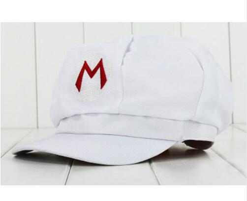 Anime Super Mario Hat Cap Luigi Bros Cosplay Baseball Costume 3