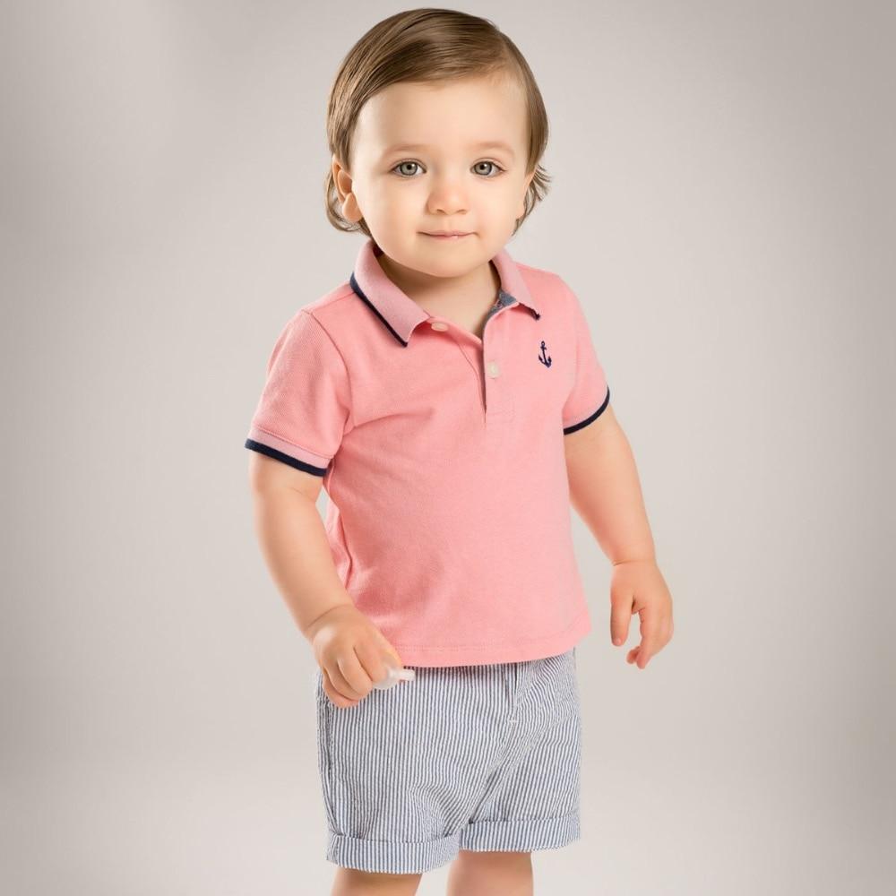 Brand 2017children Kids Boys 39 Summer Sets Short Sleeve