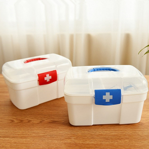 Image 3 - 大家族緊急キット子供緊急ボックスポータブル救急箱旅行医療キットヘルスケア収納袋空の袋