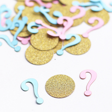 (100pieces/lot) Gender Reveal Confetti. Pink or Blue. Boy or Girl.baby shower confetti, gender reveal party decor c24