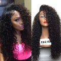 360 service Brazilian Deep Curly Full Lace Wig Human Hair Wig Virgin Brazilian Deep Wave Lace Front Wig Glueless For Black Women