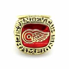 Une Expédition plus rapide 1997 Réplique de La Coupe Stanley de Hockey Sur Glace Detroit Red Wings de Championnat Anneau Taille 11