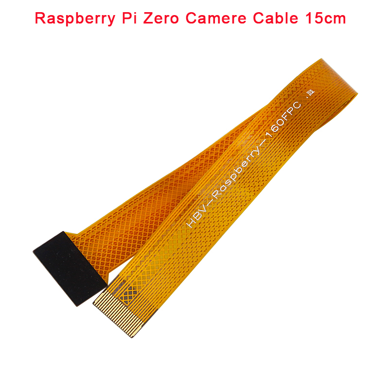 Raspberry Pi Zero Camera Cable 16 cm FFC Cable for RPI Zero Pi0 Raspberry Pi Zero W raspberry pi 3 model b plus camera 5mp webcam camera module support raspberry pi zero w v1 3 raspberry pi zero 16 cm cm ffc