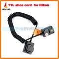 100% origital godox tl-n 3 m ttl fuera de cámara flash speedlite cordón de la zapata para nikon dslr cámara flash speedlite zapata