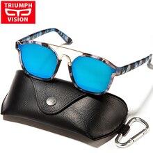 TRIUMPH VISION Pilot Sun Glasses For Women Luxury Brand Designer Mirror Sunglasses Women New Fashion UV400 Female Shades Oculos