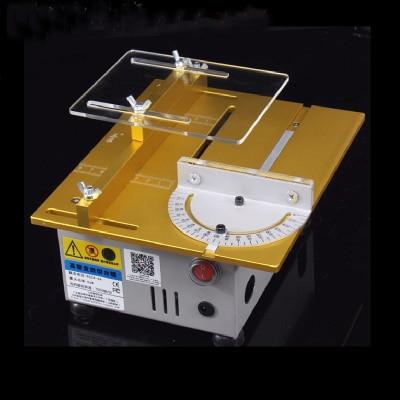 T5 1 Aluminum miniature table saw high precision DC 24V 7000RPM cutting machine DIY saws precision carpentry chainsaw