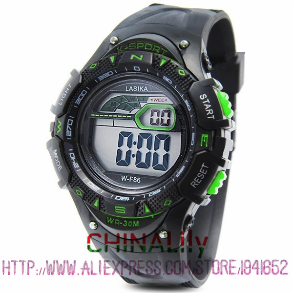 Children Watch Waterproof Sports Timing Male Girl Luminous Sports Watch The Alarm Pupil Boy Girl Watches