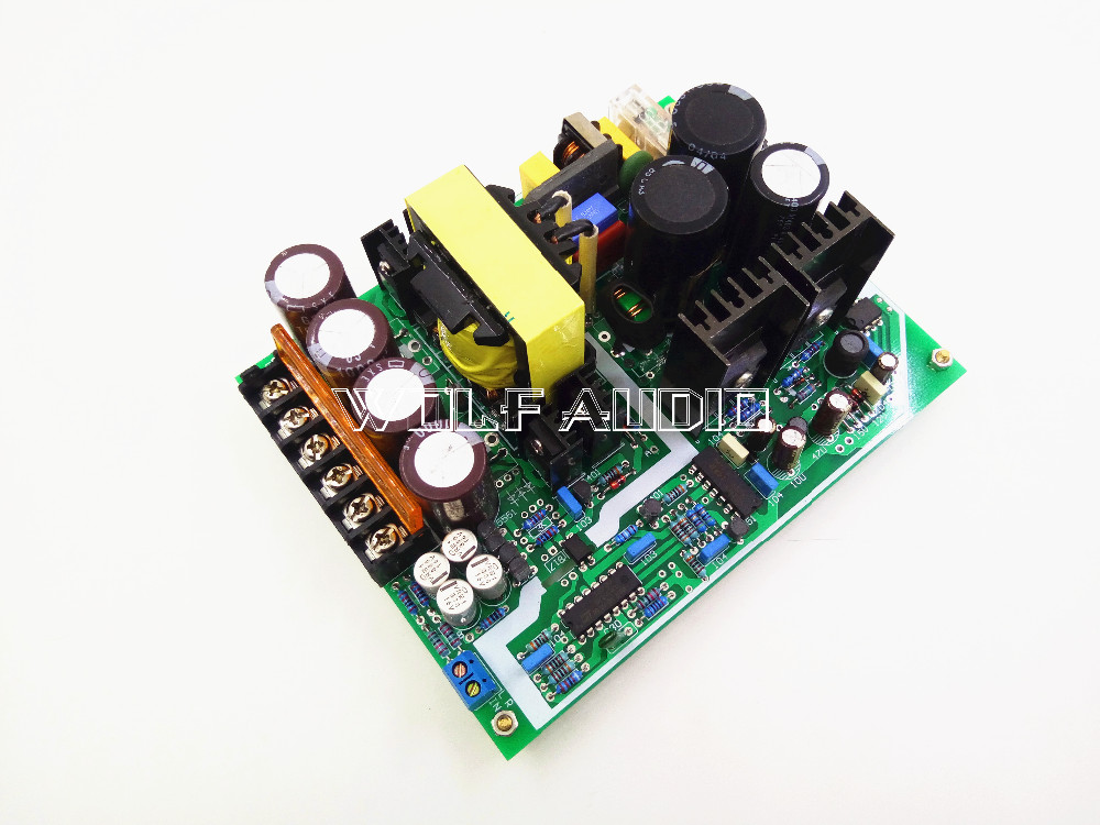 Assembled Class D 600W High-Power Amplifier Switching Power Supply Board DC+/-58V PSU For Audio Amplifier  цены