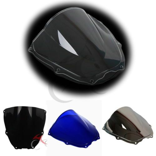 Double Bubble New Windshield Windscreen For Honda RVT1000R VTR1000 SP1 2 00-06
