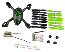 Generic Hubsan X4 H107C Remote control aircraft accessories package battery motor housing wind blade