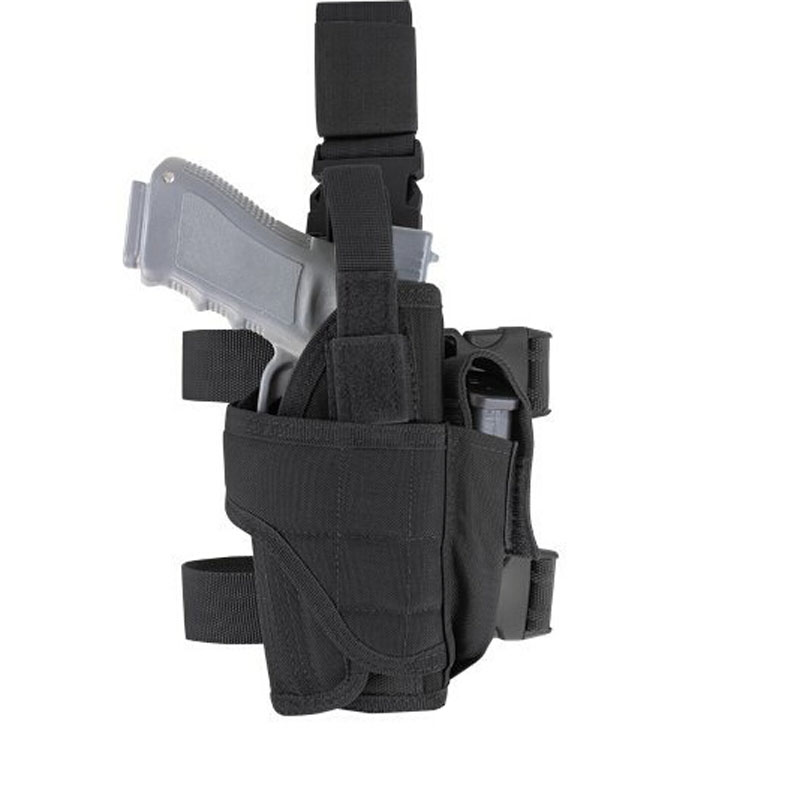 Professional Sale Tactical Adjustable Army Drop Leg Thigh Holster Gun Elite Police Swat Puttee Holster For Right Handed