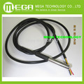 !!!5PCS/LOT Waterproof DALLAS 18B20 temperature probe temperature sensor Stainless steel package 100cm wire(DS18B20)
