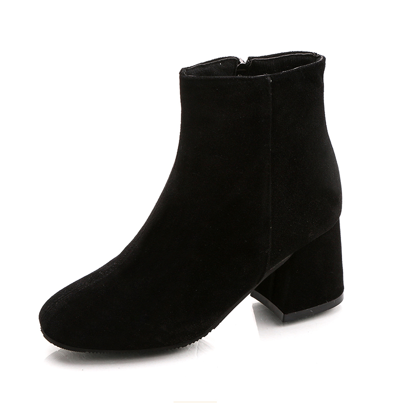 2018 New Autumn Womens Sexy Boots High Heels Suede Mature -7792