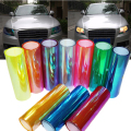 100*30CM Chameleons Change Color Headlight Lamp Stickers Flashpoint  DIY  Film Car Headlight Film Tail Lamp Film Stickers