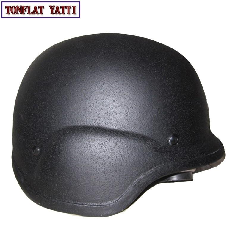 Security & Protection Polyethylene Ballistic Bulletproof Helmet Tactical Gear Helmets 51 Type 7.62mm Pistol Bullet Swat Riot-proof Helmet Cap Quell Summer Thirst