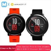 Английская версия Huami Amazfit Pace умные часы Подарок gps уличные беговые умные часы предмет одежды устройства 1,2 ГГц 512 Мб/4 ГБ для Xiaomi